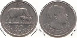 Malawi 20 Tambala 1971 KM#11.1 - Used - Malawi