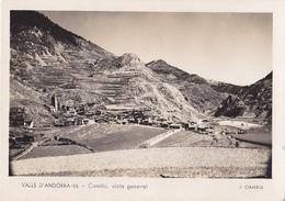 VALLS D'ANDORRA  CANILLO VISTA  GENERAL   CARTE  CIRCULEE - Andorra