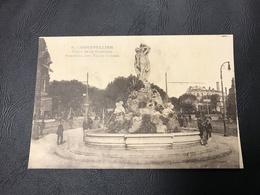 9 - MONTPELLIER Place De La Comedie Fontaine Des Trois Graces - Montpellier