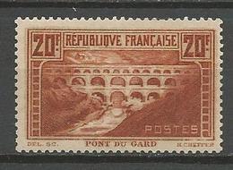 PONT DU GARD N° 262 GOM D'ORIGINE NEUF** SANS CHARNIERE / MNH / Signé CALVES - Unused Stamps
