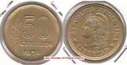 Argentina 50 Centavos 1974 KM#68 - Used - Argentina