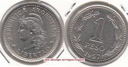 Argentina 1 Peso 1957 KM#57 - Used - Argentina