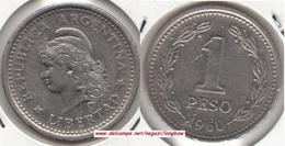 Argentina 1 Peso 1960 KM#57 - Used - Argentina