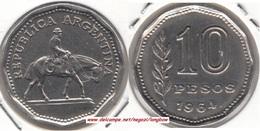 Argentina 10 Pesos 1964 KM#60 - Used - Argentina