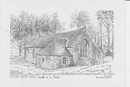SAINT-THOIS :  Chapelle De La Roche - France