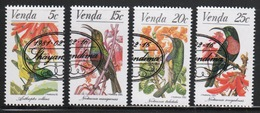Venda 1981 Complete Set Of Stamps Celebrating Sunbirds. - Venda