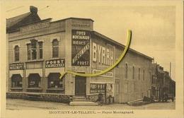 Montigny-Le-Tilleul :   Foyer Montagnard  (  BYRRH - Wielemans Bières ) - Montigny-le-Tilleul