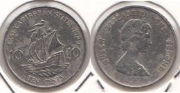 East Caribbean States 10 Cents 1989 Km#13 - Used - Caraibi Orientali (Stati Dei)