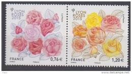 2015-N°4957/4958** LYON/ROSES - Francia