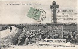 Carte Postale Ancienne Du Croisic La Croix De Kervaudu - Le Croisic