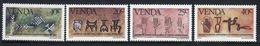 Venda 1983 Complete Set Of Stamps Celebrating History Of Writing 3rd Series. - Venda