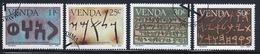 Venda 1985 Complete Set Of Stamps Celebrating History Of Writing 4th Series. - Venda