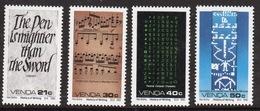 Venda 1990 Complete Set Of Stamps Celebrating History Of Writing 7th Series. - Venda