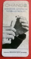 ROMANIA-CIGARETTES  CARD,NOT GOOD SHAPE-0.90 X 0.44 CM - Tobacco (related)