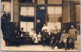 89 JOIGNY - CARTE PHOTO - Restaurant Spécialité D'escargots (1916) - Joigny