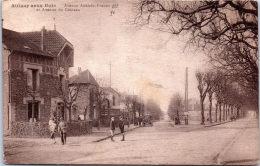 93 AULNAY SOUS BOIS - Avenue Anatole France Et Du Château - Aulnay Sous Bois