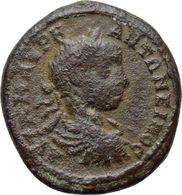 [H] + AE23 -- ELAGABAL  --  PHILIPPOPOLIS In Thracia - Preisurne / Price Urn - RARE +++ - 3. Röm. Provinz