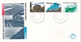 Nederland - FDC - Verkeer En Vervoer - Wegvervoer/railverkeer/binnenscheepvaart - NVPH E186 - Transportmiddelen