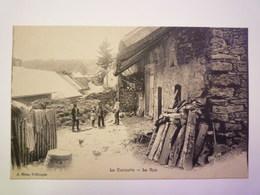 LA CROISETTE  (Haute-Savoie)  :  La  RUE   - Francia