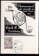 BICYCLE Luxembourg 1962 Mi 0656 Hv MC ESCH A LUXEMBOURG..............................................................117 - Luxembourg