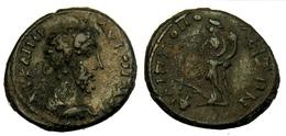 [H] +++ AE19 -- COMMODUS  --  PHILIPPOPOLIS In Thracia - Tyche With Rudder And Cornucopiae +++ - Römische Münzen