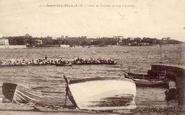 - JUAN Les PINS - Port Du Crouton Et Cap D'Antibes  -19897- - Autres Communes