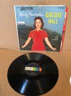 """Only Le Vinyle 33 Tours LP """"Sans No Jaquette"""" Goldie Hill Lonely Heartaches DL74148 Quelques Rayures! - Collector's Editions"""