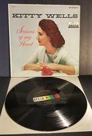 "Only Le Vinyle 33 Tours LP ""Sans No Jaquette"" Kitty Wells Seasons Of My Heart DL74075 Quelques Rayures Douces! - Collectors"