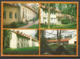 Deutschland Ansichtskarte Brandenburg Klinik 1997 Gesendet, Mit Briefmarke - Brandenburg