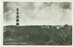 Ameland 1951; Hollum. Vuurtoren (en Panorama) - Gelopen. (J.D. Engels, Hollum - Ameland)) - Ameland