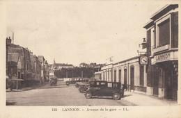 CPA - Lannion - Avenue De La Gare - Lannion