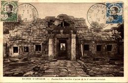 RUINES D'ANGKOR   / CARTE TIMBREE   /LOT  B54 - Kambodscha