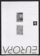 3291/3192 Europa  ZWART WIT VELLETJE 2004 - Feuillets Noir & Blanc