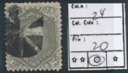 USA YVERT 24 USED - 1847-99 Emisiones Generales