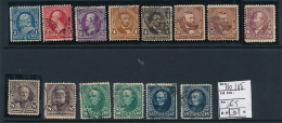 USA YVERT 110/118 USED - 1847-99 General Issues