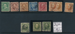 USA YVERT 123/128 USED - 1847-99 Emisiones Generales