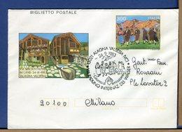 ITALIA - Biglietto Postale -  1985  -  ALAGNA  WALSER - 6. 1946-.. Repubblica