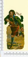 1 CHROMO  DECOUPI  BASHI BAZOUK OF TURKEY   HOMME COSTUME TRADITIONNEL - Autres