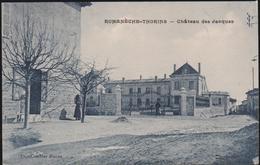Cpa B37 ROMANECHE-THORINS Château Des Jacques-animée - France