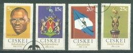 Ciskei: 1981   Independence    Used - Ciskei