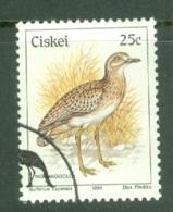 Ciskei: 1981/90   Birds   SG17   25c    Used - Ciskei