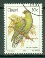 Ciskei: 1981/90   Birds   SG18   30c    Used - Ciskei