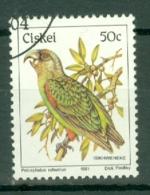 Ciskei: 1981/90   Birds   SG19   50c    Used - Ciskei