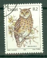 Ciskei: 1981/90   Birds   SG21   R2    Used - Ciskei