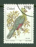 Ciskei: 1981/90   Birds   SG5   1c    Used - Ciskei
