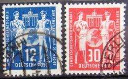 ALLEMAGNE Rép.démocratique               N° B1/C1                OBLITERE - Used Stamps