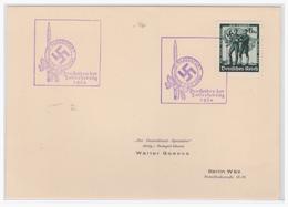 Dt.- Reich (001407) Propagandastempel Den Helden Der Julierhebung 1934, Klagenfurt 24.7.1938 - Germany