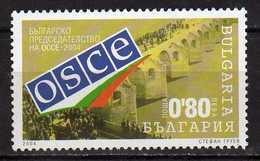 Bulgaria - 2004 OSCE - Bulgarian Chairmanship. MNH - Neufs