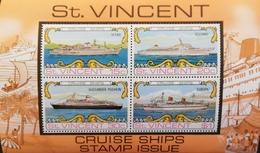 St.Vincent  1974 Cruise Ships Visiting Kingstown S/S - St.Vincent (1979-...)