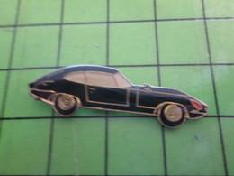 513J Pin's Pins / Beau Et Rare : Thème AUTOMOBILES : JAGUAR TYPE E COULEUR NOIRE - Jaguar